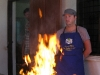 Chiang Mai - cooking school burns down...