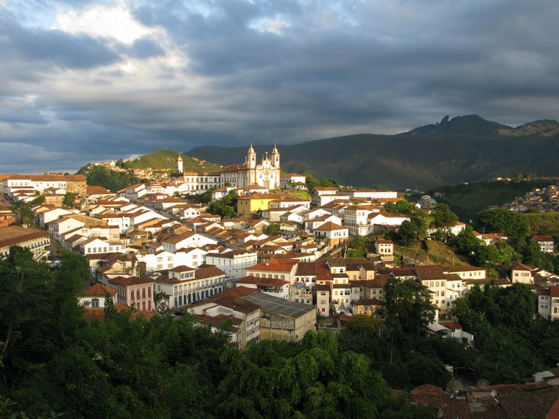 View over Ouro Preto
