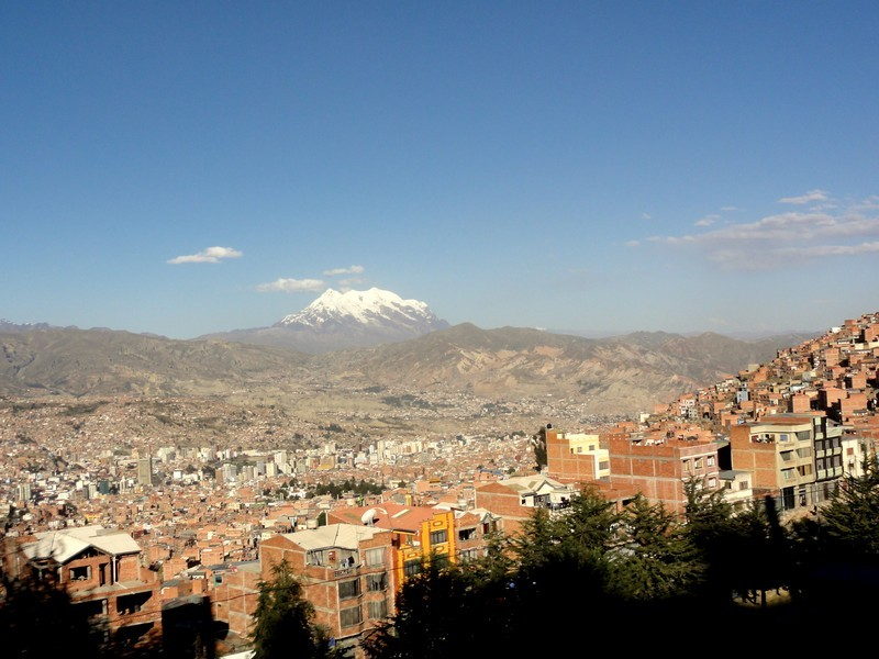 The view over La Paz