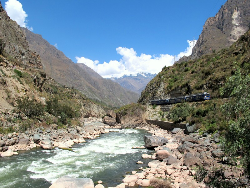 Start of the trail - Inca Bridge