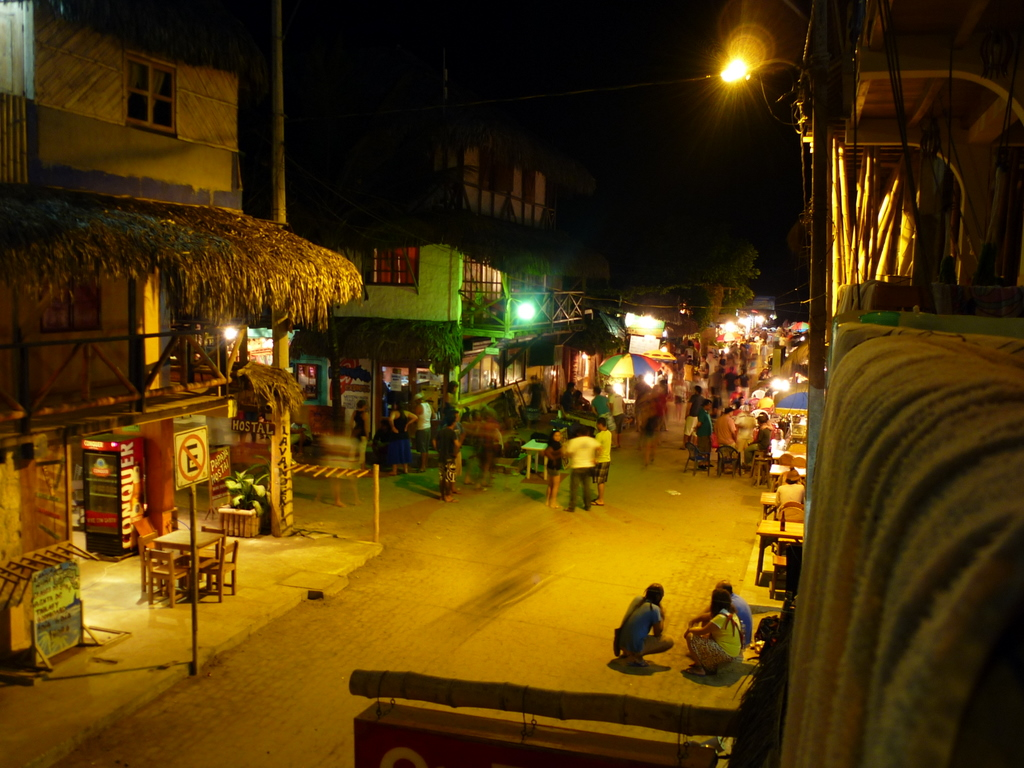 Town at  night